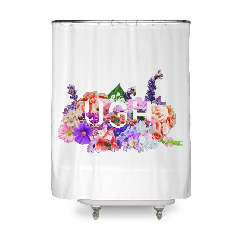Ugh Home Shower Curtain by violetCreations's Artist Shop