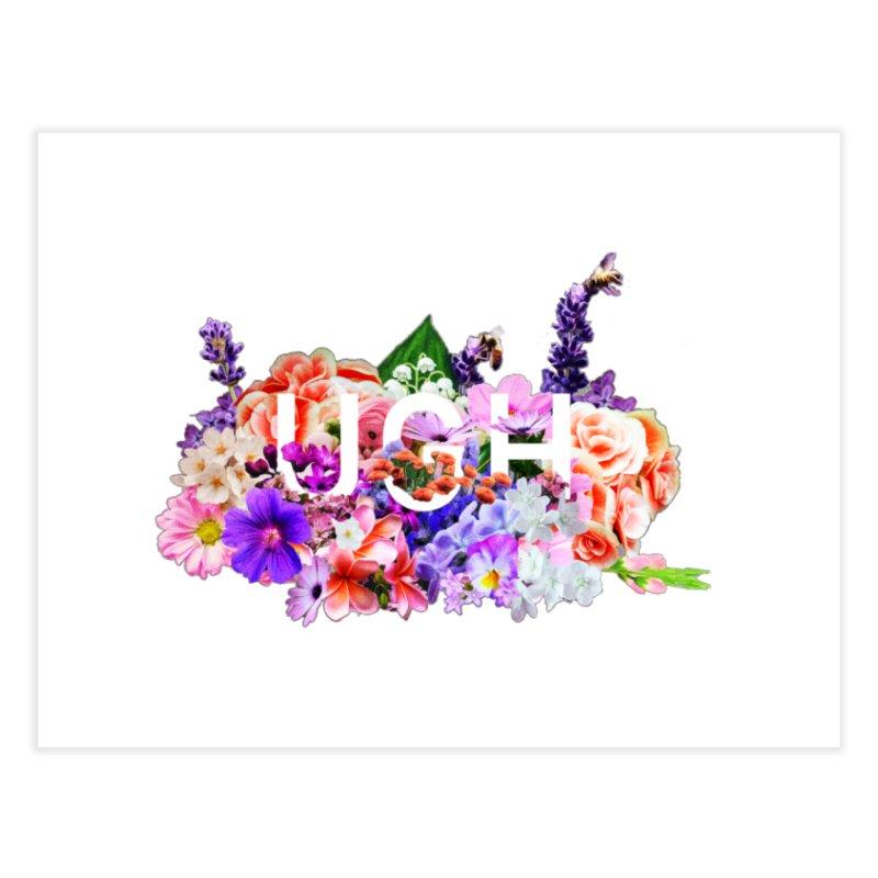 Ugh Home Fine Art Print by violetCreations's Artist Shop