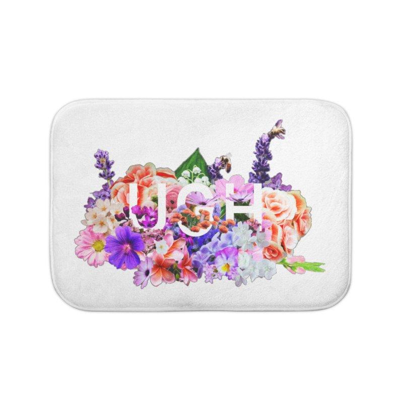 Ugh Home Bath Mat by violetCreations's Artist Shop