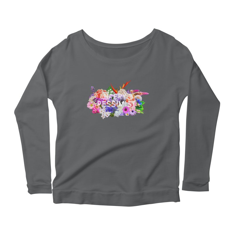 Happy Pessimist Women's Longsleeve T-Shirt by violetCreations's Artist Shop