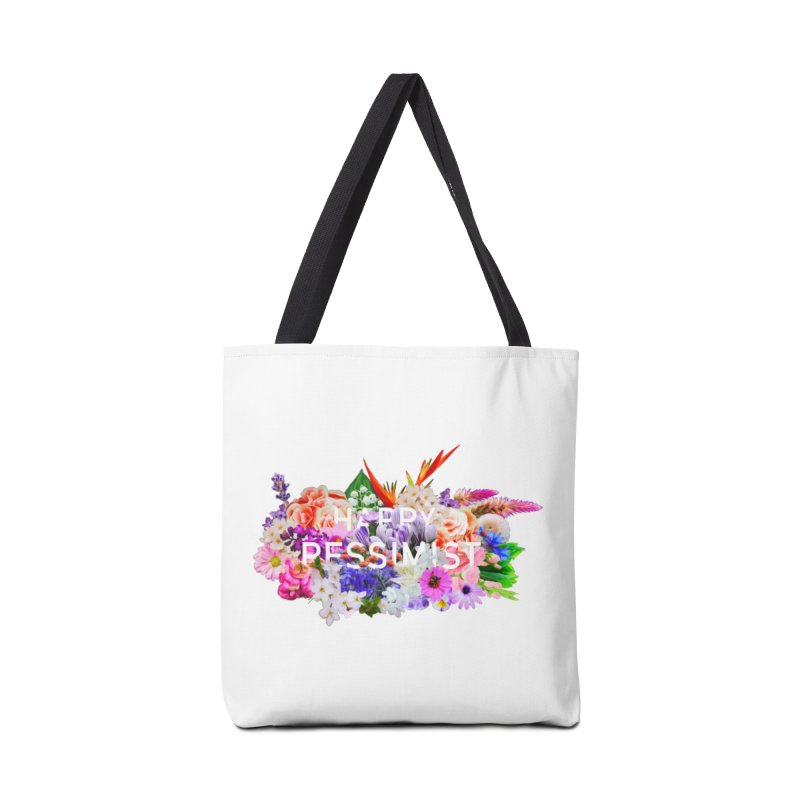 Happy Pessimist Accessories Bag by violetCreations's Artist Shop
