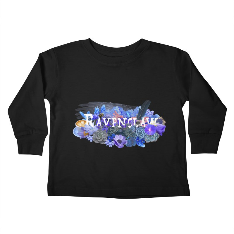 Rowena's Lost Garden Kids Toddler Longsleeve T-Shirt by violetCreations's Artist Shop