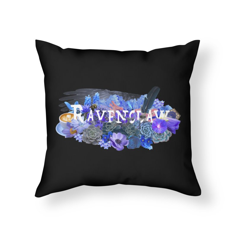Rowena's Lost Garden Home Throw Pillow by violetCreations's Artist Shop