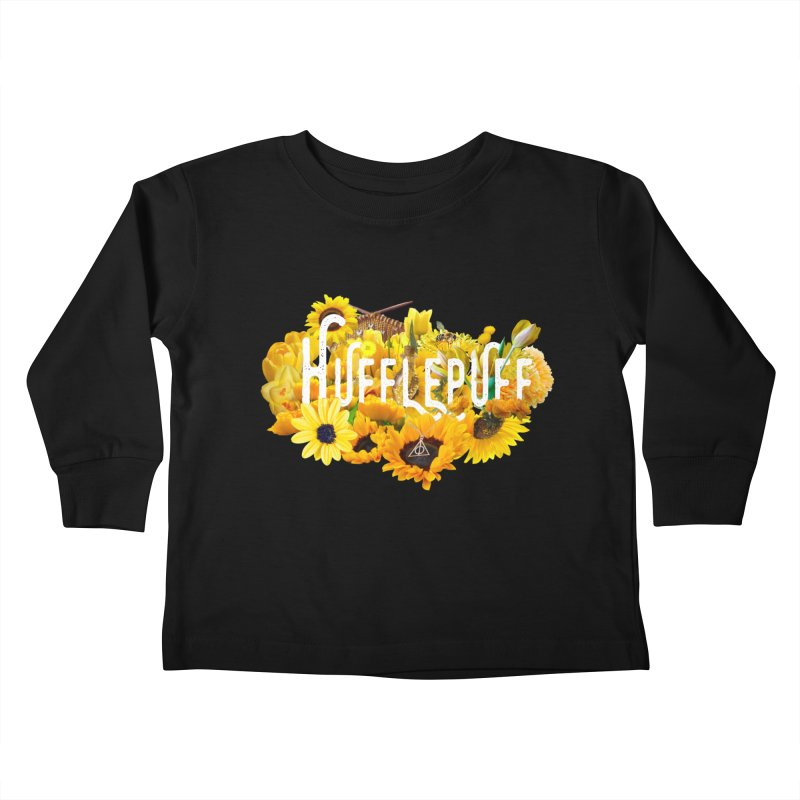 Helga's Sunflowers Kids Toddler Longsleeve T-Shirt by violetCreations's Artist Shop