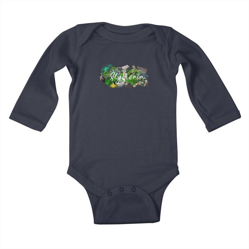 Salazar's Garden Kids Baby Longsleeve Bodysuit by violetCreations's Artist Shop
