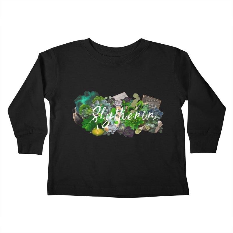 Salazar's Garden Kids Toddler Longsleeve T-Shirt by violetCreations's Artist Shop