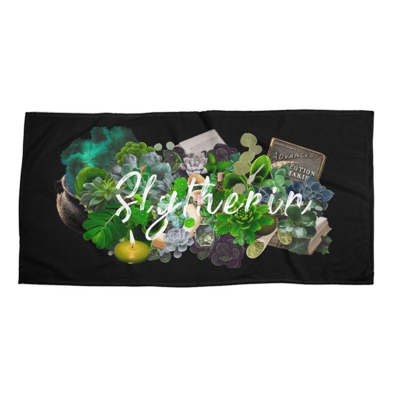 Salazar's Garden Accessories Beach Towel by violetCreations's Artist Shop