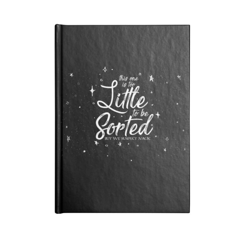 This One is too Little To be Sorted Accessories Notebook by violetCreations's Artist Shop