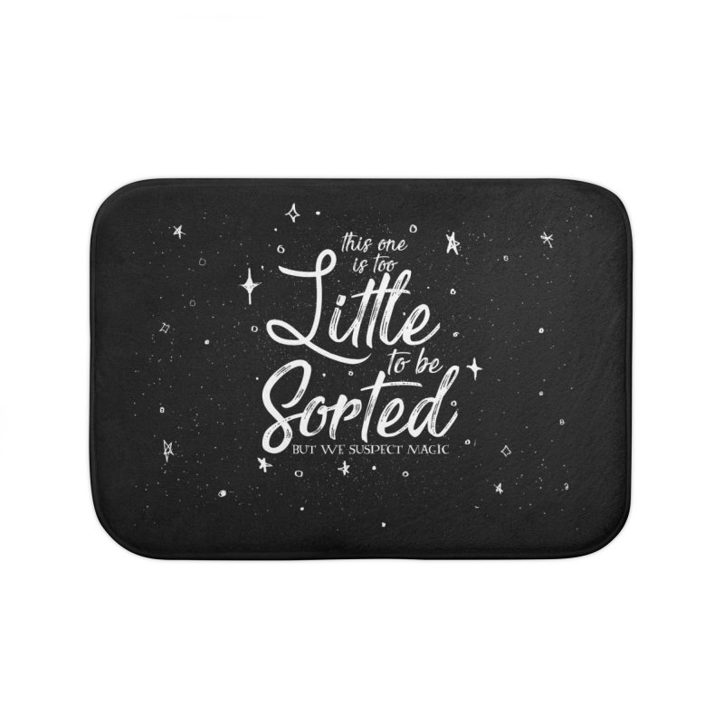 This One is too Little To be Sorted Home Bath Mat by violetCreations's Artist Shop