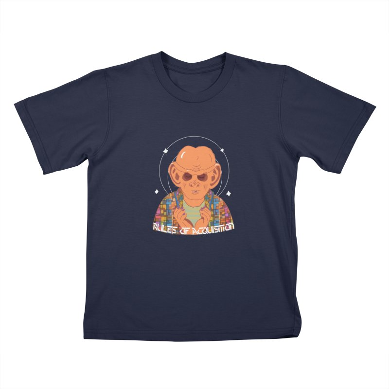 Quark's Rules Kids T-Shirt by violetCreations's Artist Shop