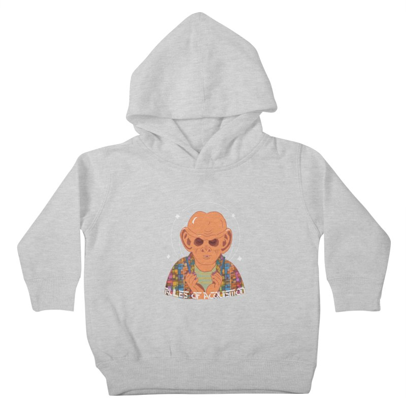 Quark's Rules Kids Toddler Pullover Hoody by violetCreations's Artist Shop
