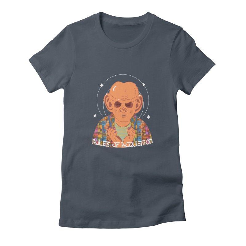 Quark's Rules Women's T-Shirt by violetCreations's Artist Shop