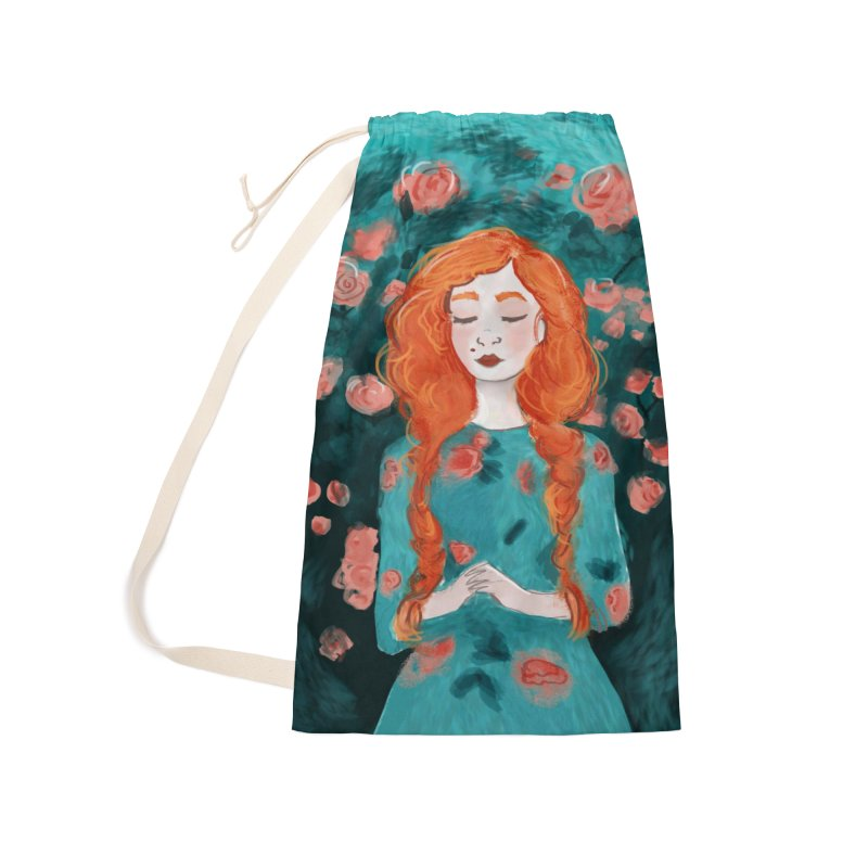 Rose Red Accessories Bag by violetCreations's Artist Shop