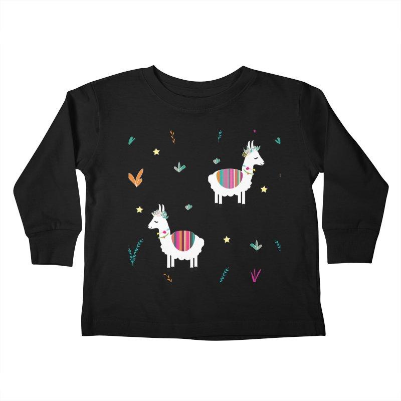 Alpaca-corn Clothes Kids Toddler Longsleeve T-Shirt by violetCreations's Artist Shop