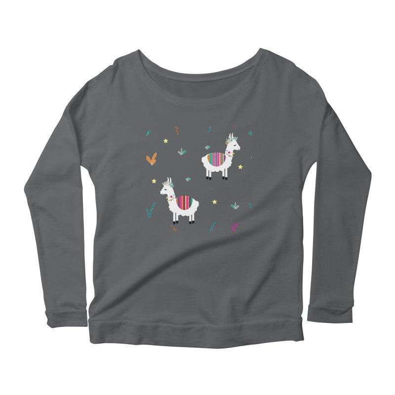Alpaca-corn Clothes Women's Longsleeve T-Shirt by violetCreations's Artist Shop