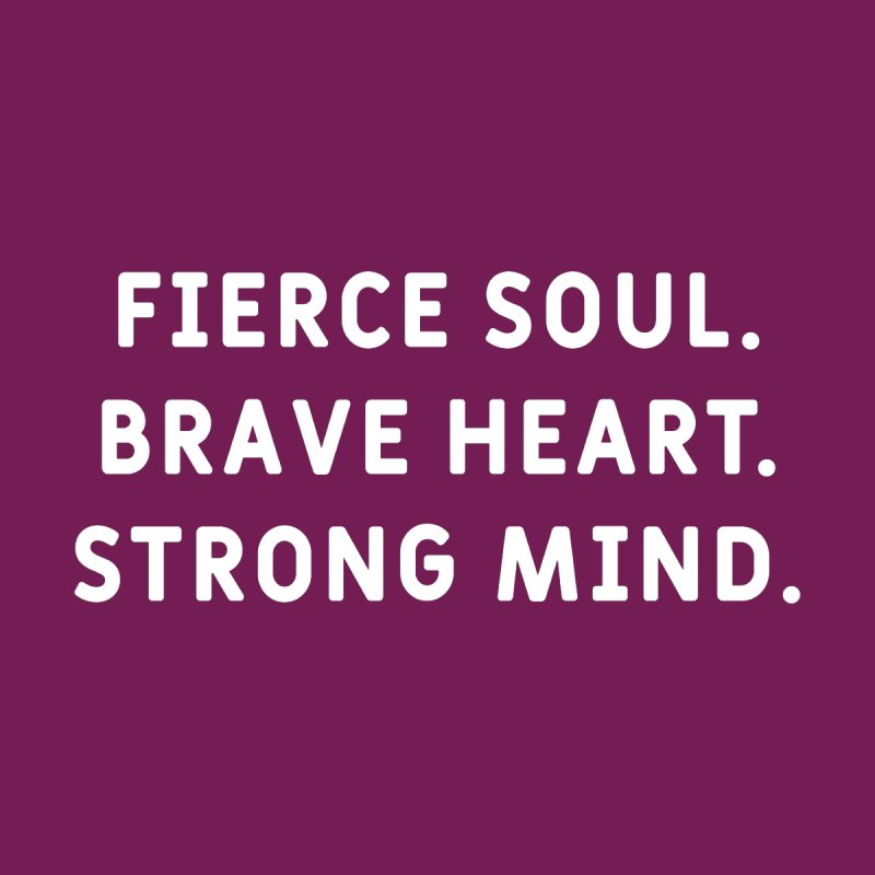 Fierce, Brave, & Strong Women's Tank by VIP Online Store
