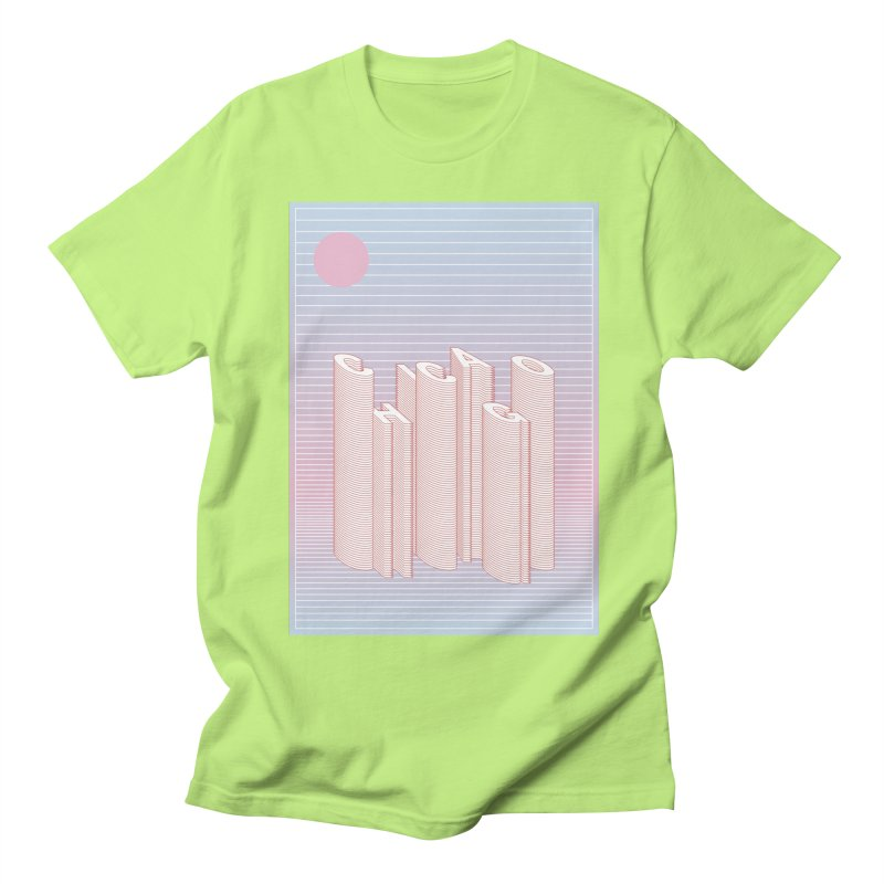 Chicago City Minimal Skyline Women's Regular Unisex T-Shirt by virbia's Artist Shop