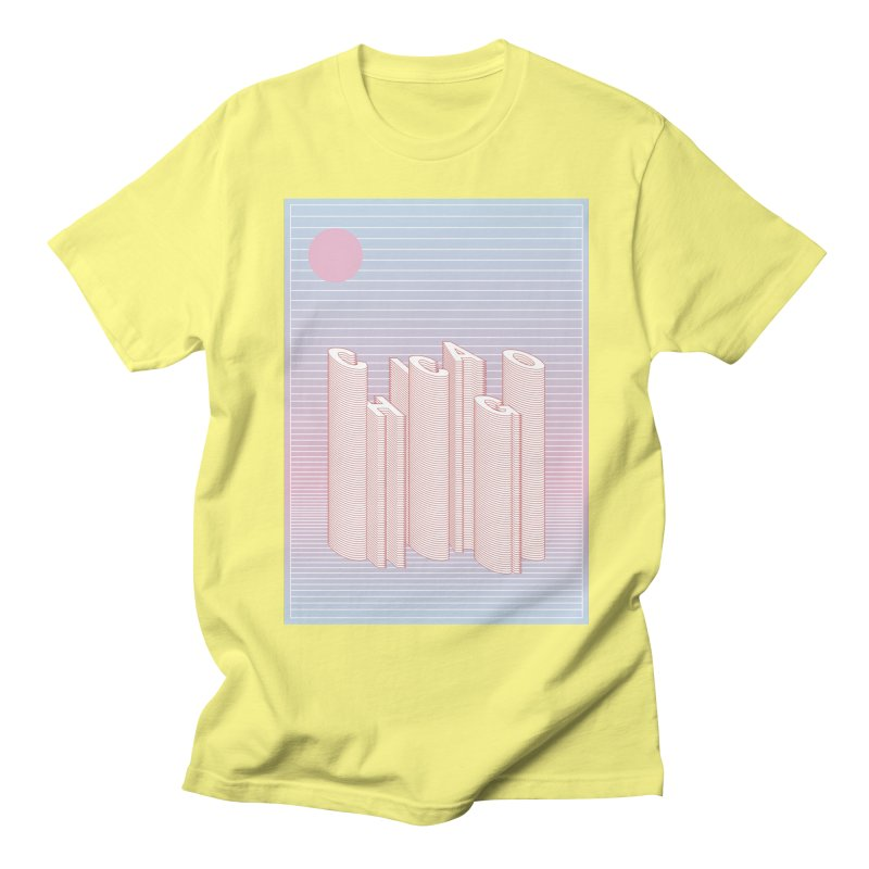 Chicago City Minimal Skyline Women's Regular Unisex T-Shirt by virbia's Artist Shop