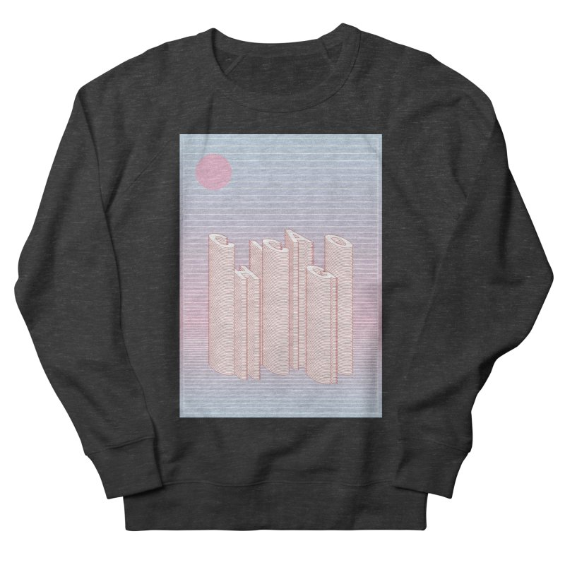 Chicago City Minimal Skyline Women's French Terry Sweatshirt by virbia's Artist Shop