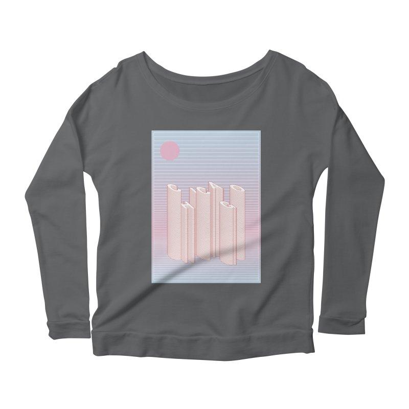 Chicago City Minimal Skyline Women's Longsleeve T-Shirt by virbia's Artist Shop