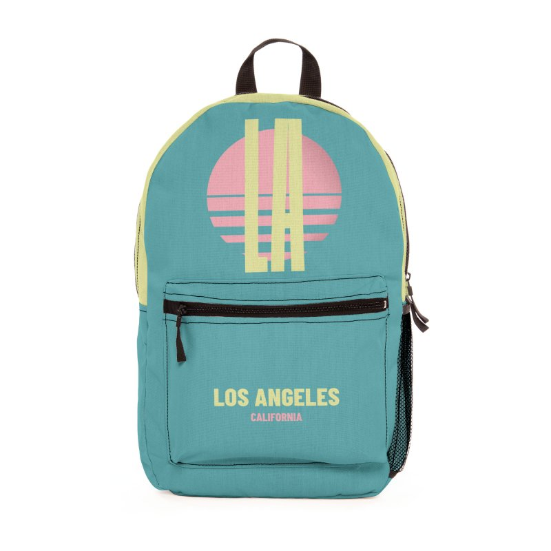 LA Los Angeles California sunset Accessories Bag by virbia's Artist Shop