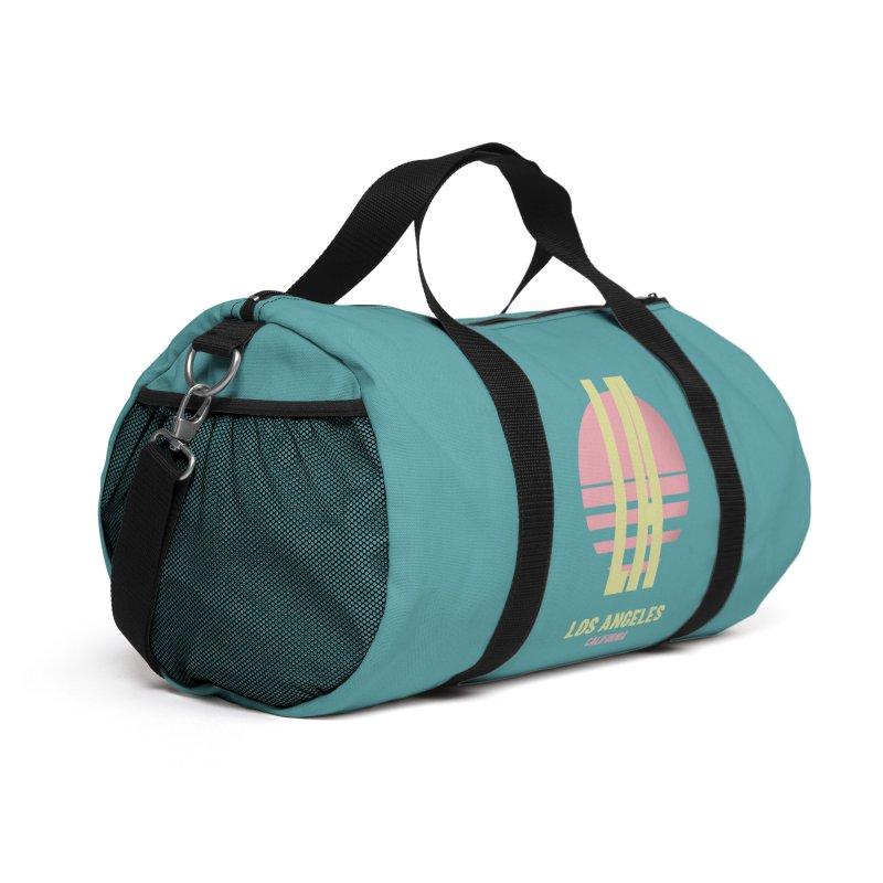 LA Los Angeles California sunset Accessories Bag by virbia's Artist Shop