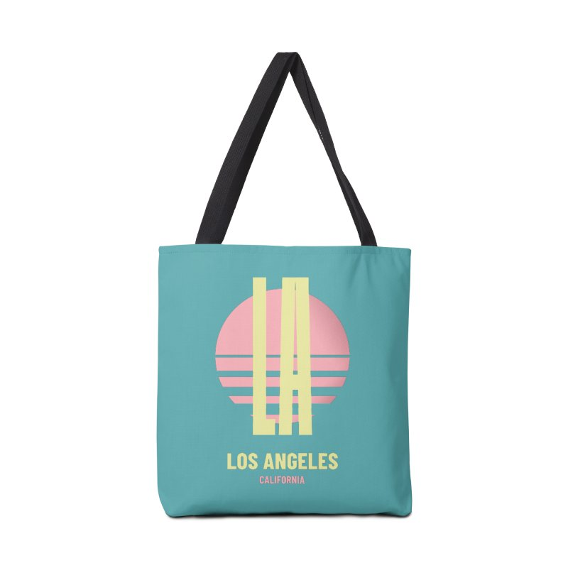 LA Los Angeles California sunset Accessories Tote Bag Bag by virbia's Artist Shop