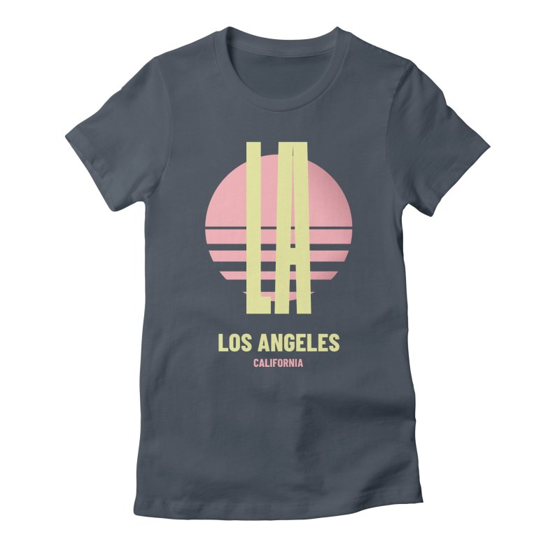 LA Los Angeles California sunset Women's T-Shirt by virbia's Artist Shop