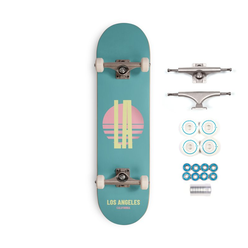 LA Los Angeles California sunset Accessories Complete - Basic Skateboard by virbia's Artist Shop