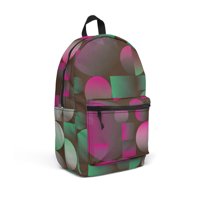 Winter geometric pattern Accessories Backpack Bag by virbia's Artist Shop