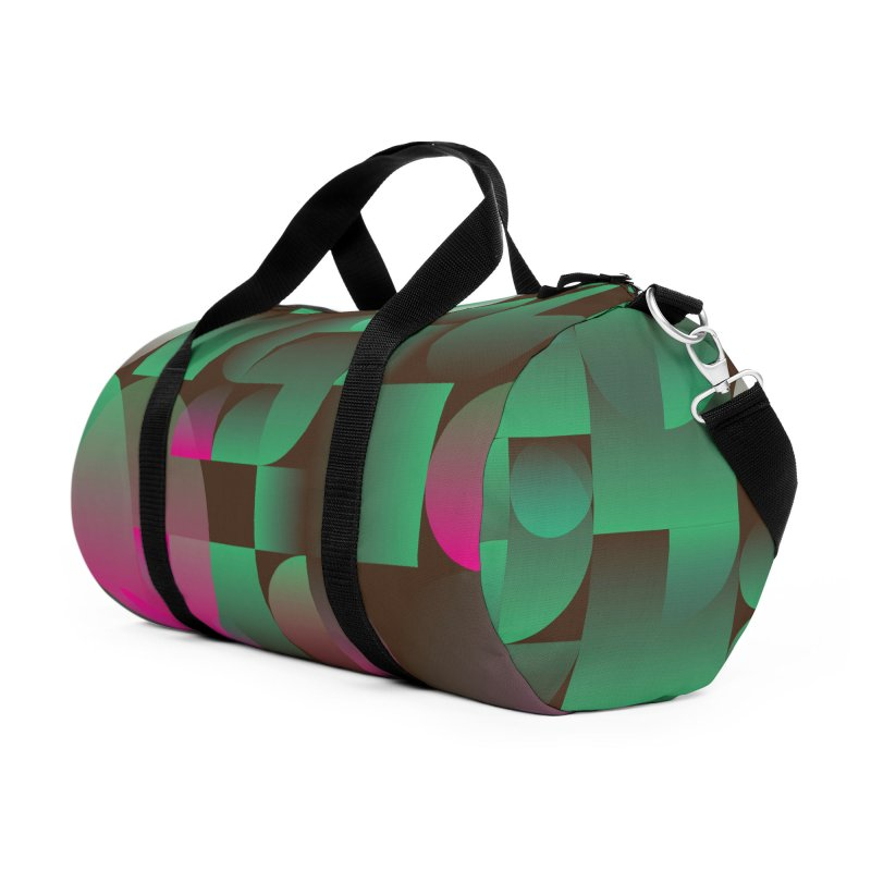 Winter geometric pattern Accessories Duffel Bag Bag by virbia's Artist Shop