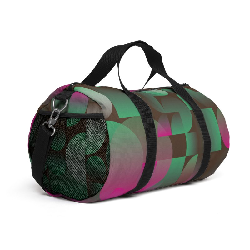 Winter geometric pattern Accessories Bag by virbia's Artist Shop
