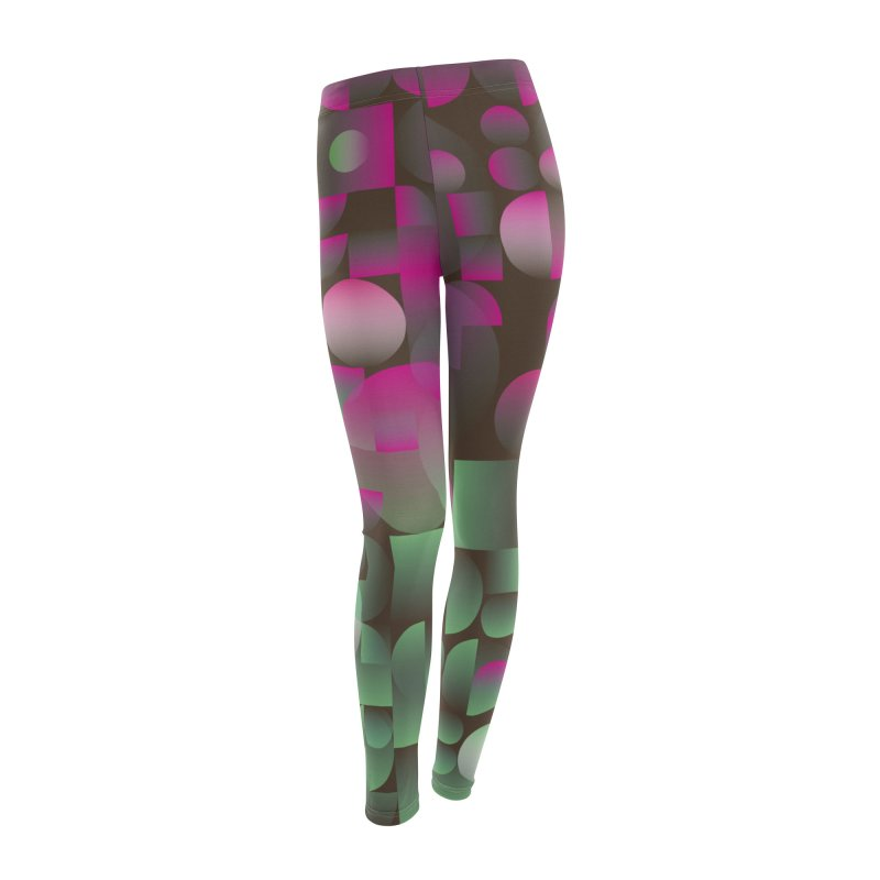Winter geometric pattern Women's Bottoms by virbia's Artist Shop