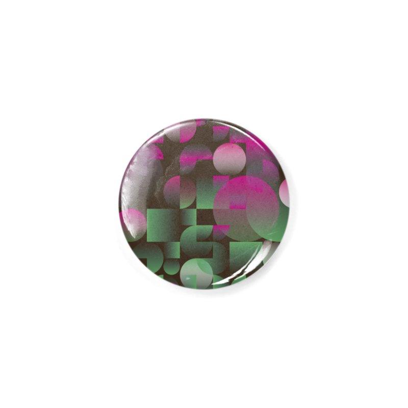 Winter geometric pattern Accessories Button by virbia's Artist Shop