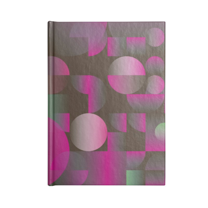 Winter geometric pattern Accessories Lined Journal Notebook by virbia's Artist Shop