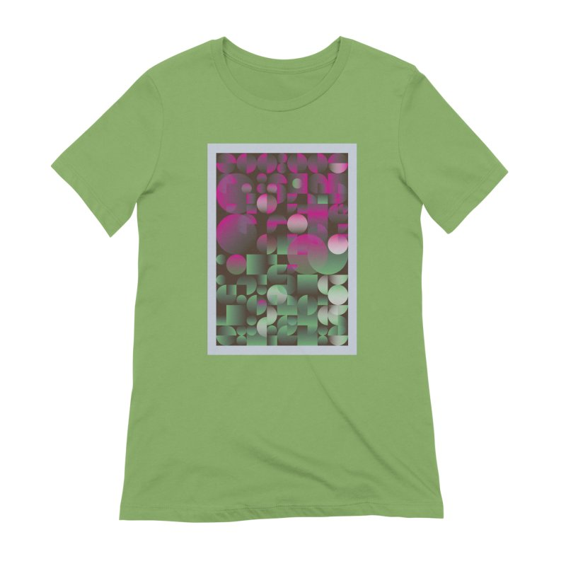 Winter geometric pattern Women's Extra Soft T-Shirt by virbia's Artist Shop