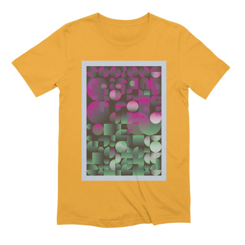 Winter geometric pattern Men's Extra Soft T-Shirt by virbia's Artist Shop