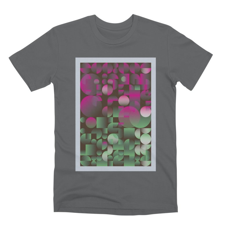 Winter geometric pattern Men's Premium T-Shirt by virbia's Artist Shop