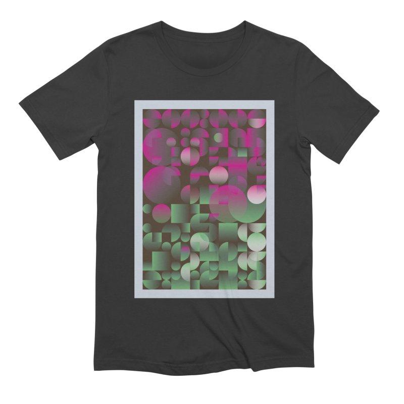 Winter geometric pattern Men's Extra Soft T-Shirt by virbia's Artist Shop