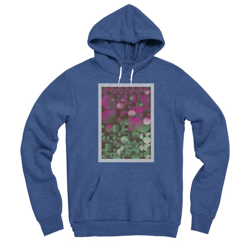 Winter geometric pattern Men's Pullover Hoody by virbia's Artist Shop