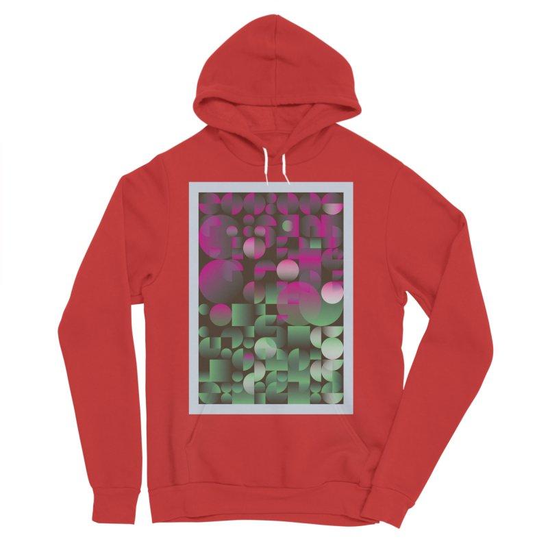 Winter geometric pattern Women's Sponge Fleece Pullover Hoody by virbia's Artist Shop