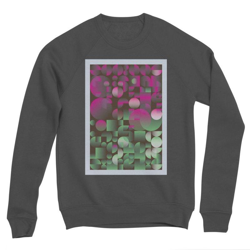Winter geometric pattern Men's Sponge Fleece Sweatshirt by virbia's Artist Shop