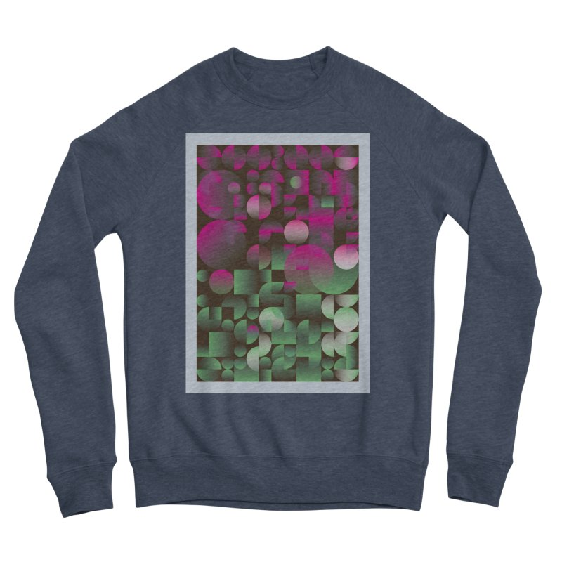 Winter geometric pattern Women's Sponge Fleece Sweatshirt by virbia's Artist Shop