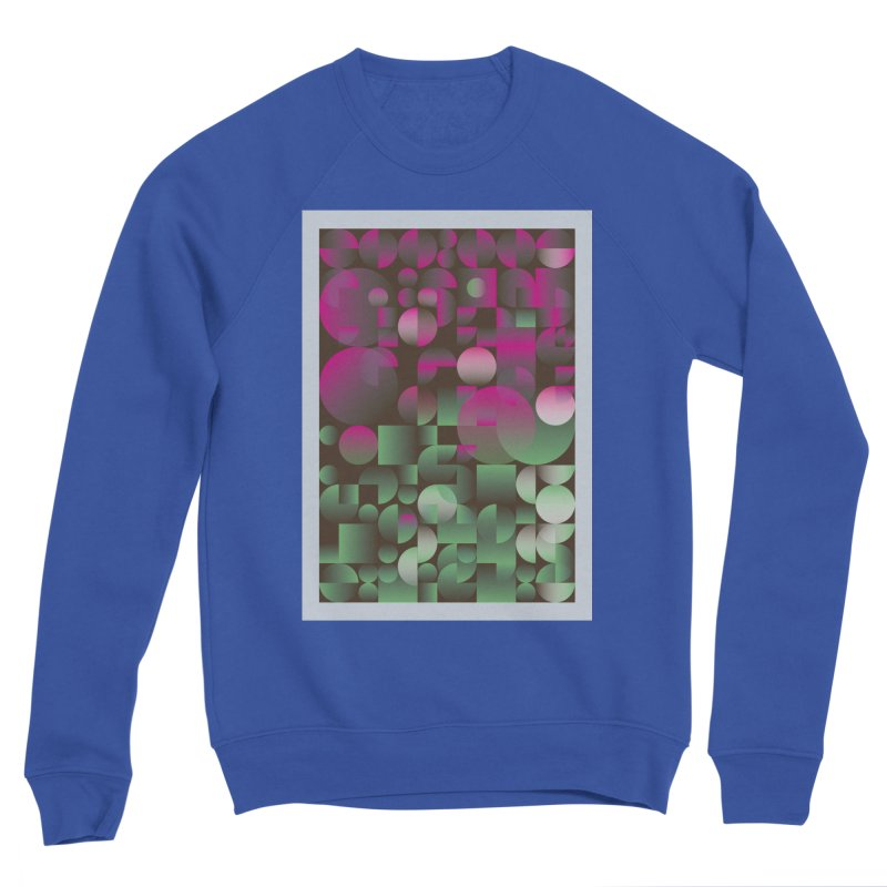 Winter geometric pattern Men's Sweatshirt by virbia's Artist Shop