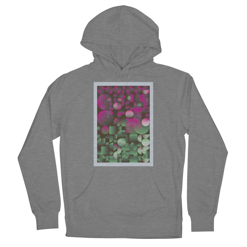 Winter geometric pattern Women's Pullover Hoody by virbia's Artist Shop