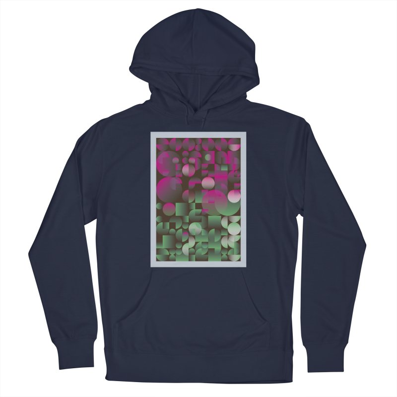 Winter geometric pattern Men's Pullover Hoody by virbia's Artist Shop