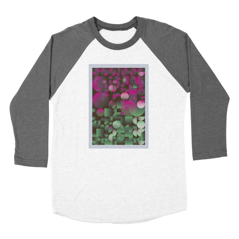 Winter geometric pattern Women's Longsleeve T-Shirt by virbia's Artist Shop