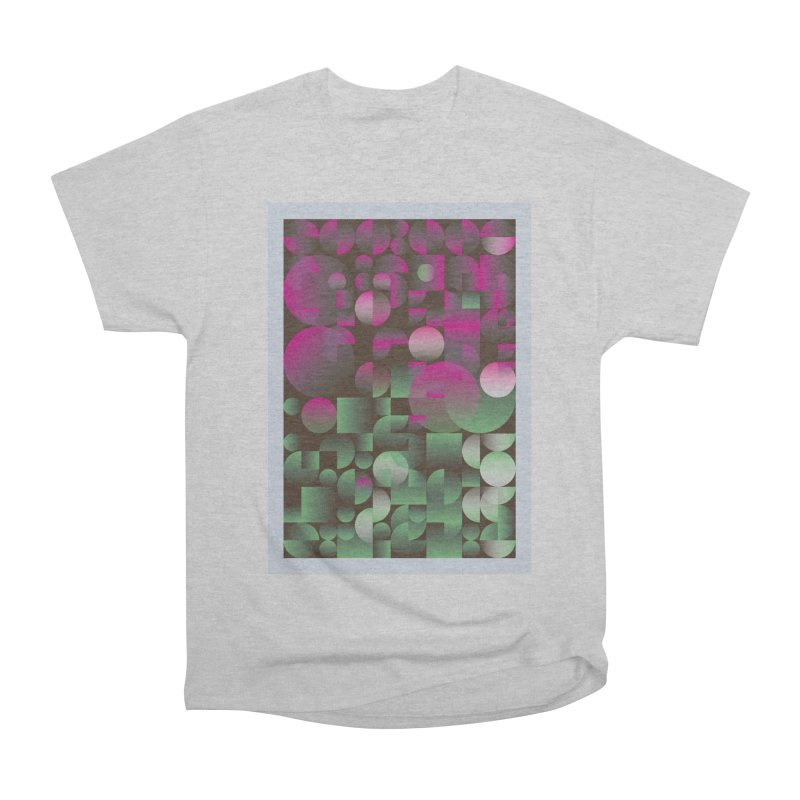 Winter geometric pattern Men's Heavyweight T-Shirt by virbia's Artist Shop