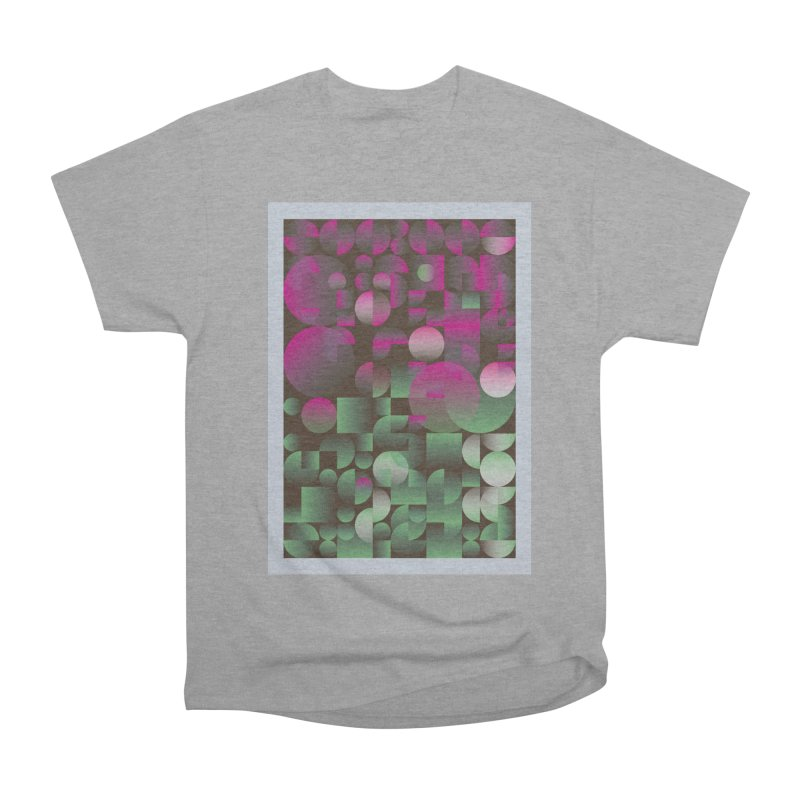 Winter geometric pattern Women's Heavyweight Unisex T-Shirt by virbia's Artist Shop