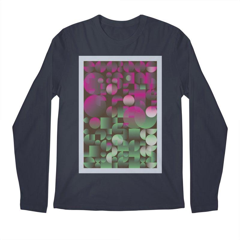 Winter geometric pattern Men's Regular Longsleeve T-Shirt by virbia's Artist Shop